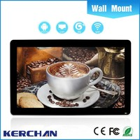 "55"" manual mp4 digital player manual with android 4.4 os without camera from Shenzhen factory"