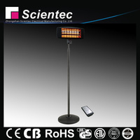 Electric Quartz Waterproof Far Infrared Space Heater With Remoted