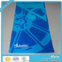 Wholesale full color printed velvet sex extra larg beach towel 100% cotton