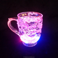 New Best-Selling OEM artwork design and manufacturing led flashing wine cup