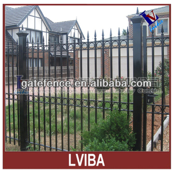 hot sale palisade fencing and aluminium palisade fencing & powder coated palisade fence