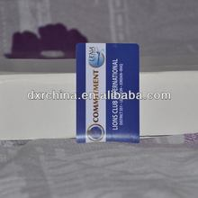 Cheap innovative embossed pvc cards