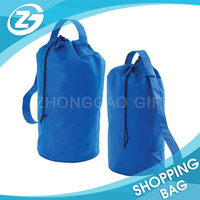 Universal Outdoor Simple Design Reusable Strong Foldable Sports Gym Drawstring Bag