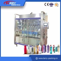 100 1000ml Horizontal Pneumatic Water Filling