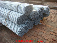 zinc 250gsm Q275 galvanized steel corner small ends fence post/Galvanized Steel Pipe