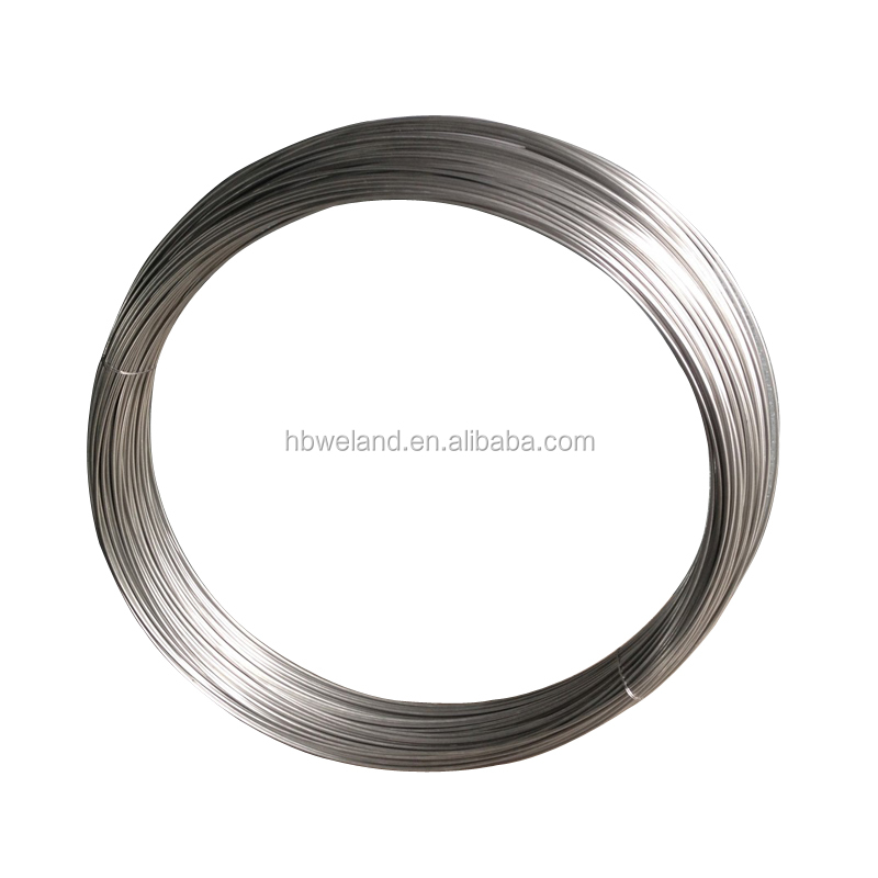 HBWELAND FACTORY PRICE Alibaba Hot Sales Food Grade 304 316 316l 10 Gauge Stainless Steel Wire
