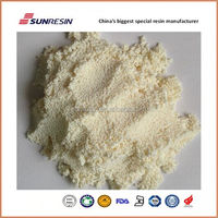 water Dealkalization cation ion exchange resin