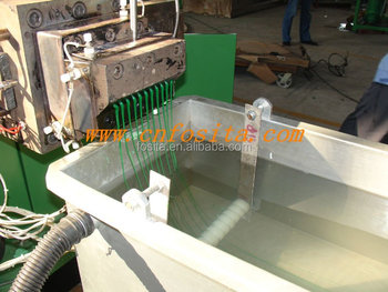PP PE granule making machine plastic recycling and granulation line