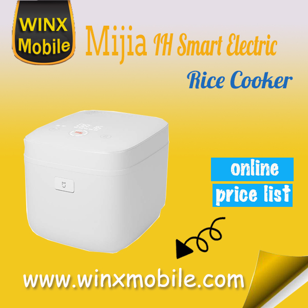 for Xiaomi mijia IH Smart Electric Rice Cooker 3L alloy IH Heating pressure cooker home appliances for kitchen WiFi Control