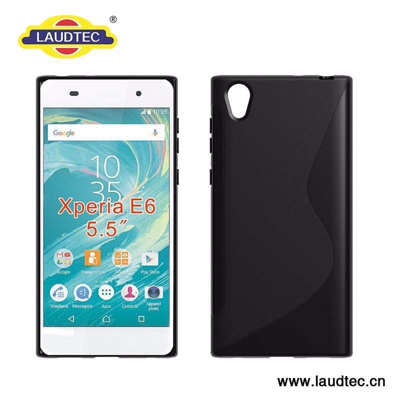 New Arrival High Quality Tpu Clear case for Sony Xperia E6