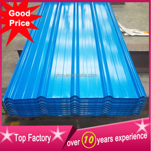 cheap corrugated coated color steel roof tile for factory warehouse