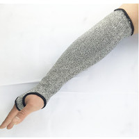 long to elbow arm protect safety cut resistant sleeve used in sports