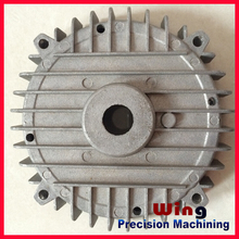 customized die casting motorcycle 125 cc engine moped part