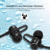 2017 Mobile Phone Earphones Bluetooth Sports Earphone Wireless CVC6.0 Noise Cancelling Mini Magnetic Neckband Earbuds with Mic