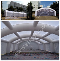 Inflatable concert tent, white large inflatable tent for party/wedding
