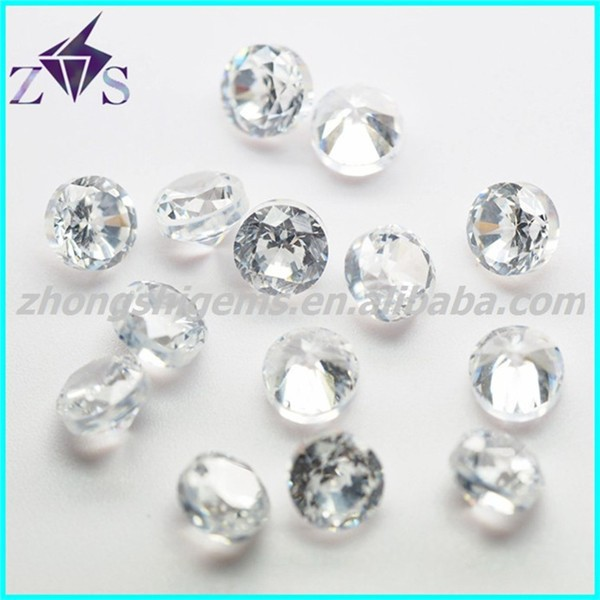 Thick Girdle High Temperature Resistance Zircon Stone for Wax Setting