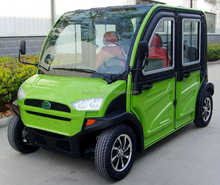 China cheap 4 seats 4 wheel adult smart mini electric car