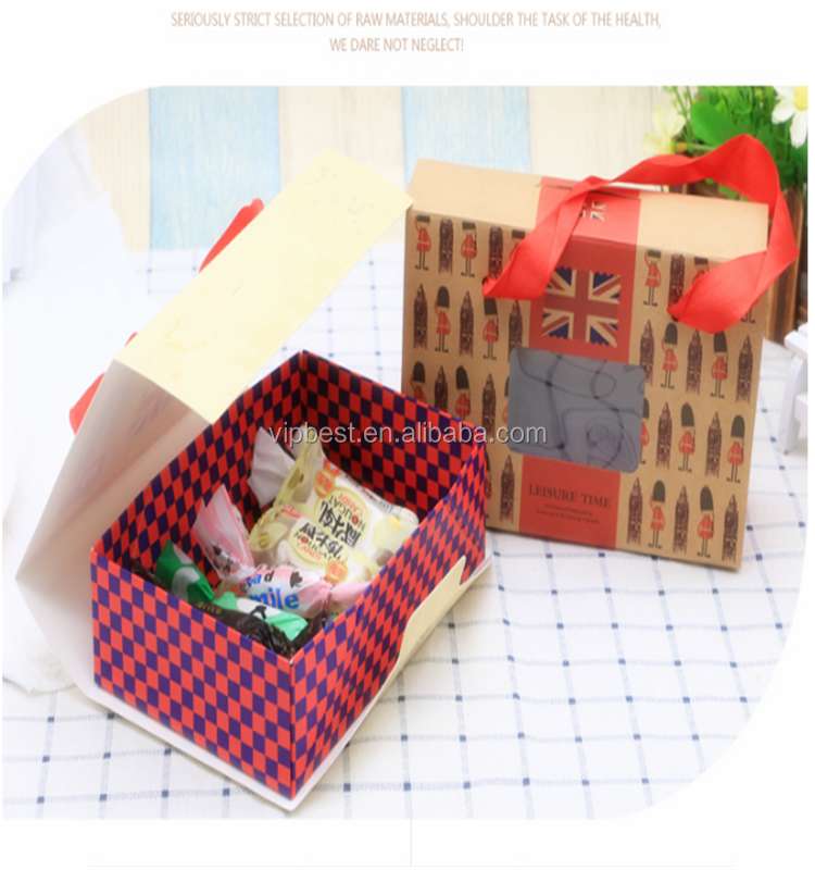 High end good quality toy package box gift package box