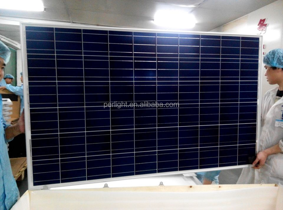 poly 250w solar panel for home solar system 1000 watt solar panel system