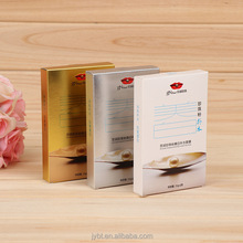 high quality printing packaging laser cut card paper gift box