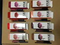 New Stocking!!KYLIE JENNER LIP KIT Kylie Matte Liquid Lipstick&Lip Liner Kylie lip Makeup 1set=1lipstick+1lipliner