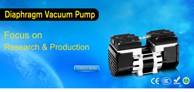 mini type vacuum air pump oil-less 12v DC motor