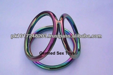 Rainbow Triple Cages for Cock & Ball