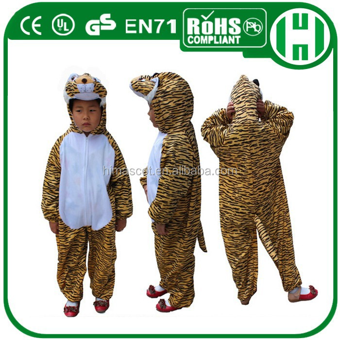 HI CE Party costume for children kids Cosplay tiger costume Animal costume for children