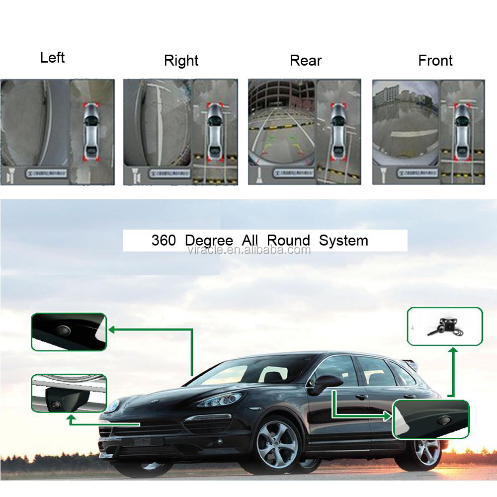 Auto 360 Degrees 720P Around View System for All Types of Cars