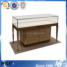 2014 new design floor standing mirrored jewelry cabinet made in china