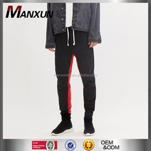 Wholesale High quality Track Sweat pants With Red Stripes Custom Slim Fit Men's Joggers