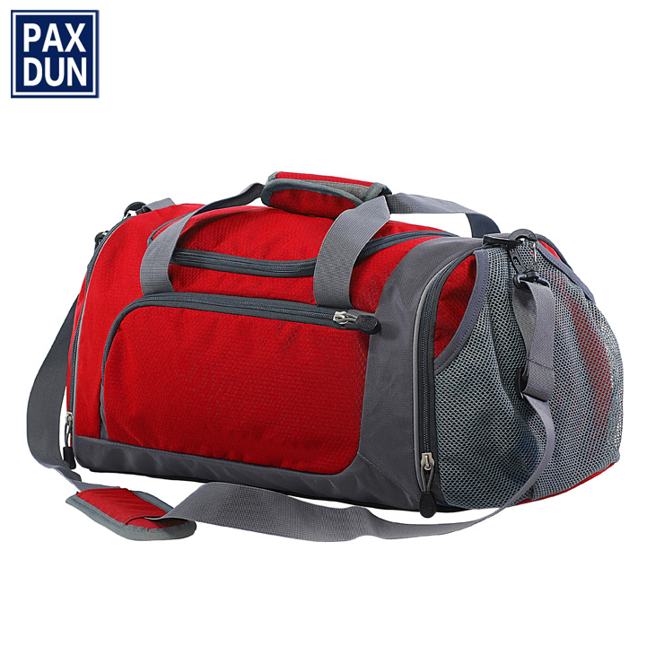 Best fashion design weekend travel bag for man,customize sport bag with shoe compartment,wholesale gym duffel bag