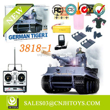 Metal Gear 1:16 Scale Germany Tiger I RC Tank Henglong 3818-1 Tank For Sale