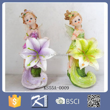 Resin Garden Sexy Girl Figurine Fairy Girl