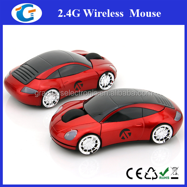 High tech racing car wireless mouse for computer