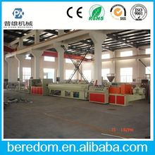 Flexible Pvc Electric Wire Cover Pipe Priduction Extruding Line