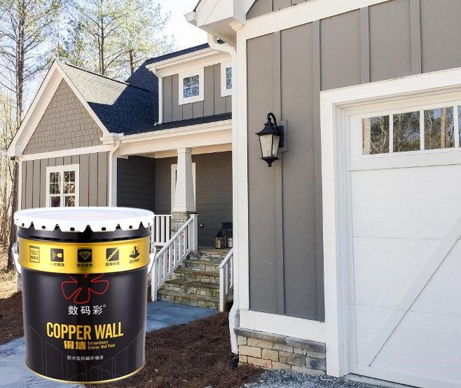 Acrylic building coating spray water-proof exterior paint coating