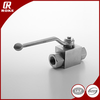 Pressure Relief Valve Stainless Steel Natural Gas Ball Valve