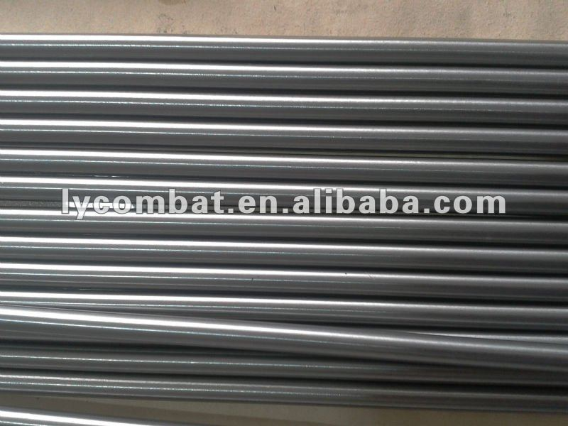 black surface GTAW / TIG welding pure Tungsten electrodes dia2.0*1000mm