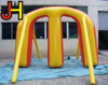 Customized Giant Inflatable M Shape Paintball Bunker For Shooting Sport Game