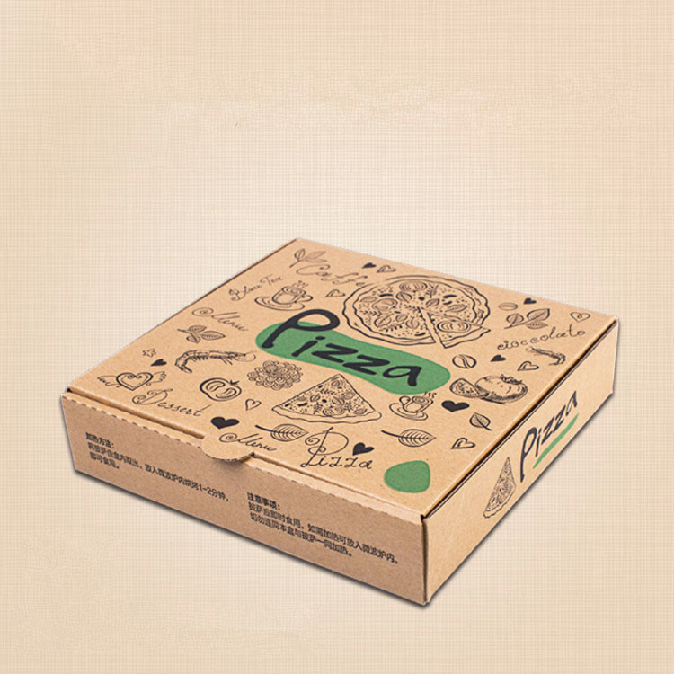 Hot selling new style custom cheap carton pizza box design