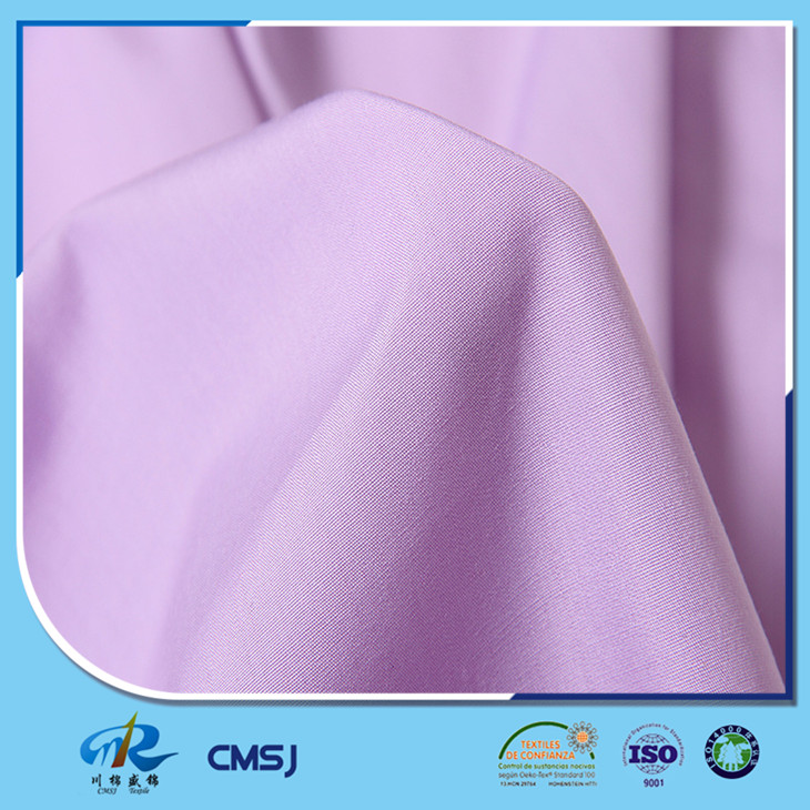 Hot saling polyester cotton poplin plain woven denim fabrics for shirts