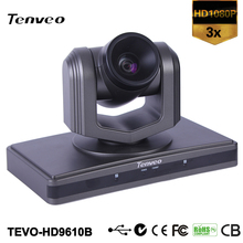 TEVO-HD9610B most selling product in alibaba Professional 3x PTZ Conference Remote Broadcast HD video USB FLIP CAMERA