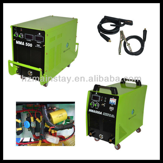 Three Phase IGBT Rectifier 110 Arc Welder MMA500-IGBT(Module)