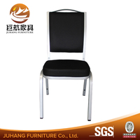 2016 High quality black fabric banquet chair for sale JH-A157