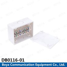 Ningbo OEM wall plate 16 pairs distribution box