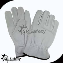 SRSAFETY pig grain leather driving gloves