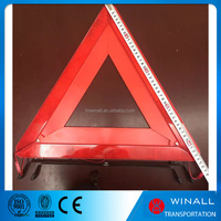 China factory road kit car accessories tools kit led flashing light triangle with ce