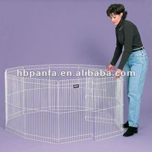 "Small Animal Exercise Pen/Each wire panel is 18""W x 29""H and has 1"" wire spacing /indoor or outdoor"