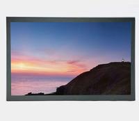 For CCTV Display HD 1080P Resolution BNC VGA RCA Port 17.3 Inch LED Monitor